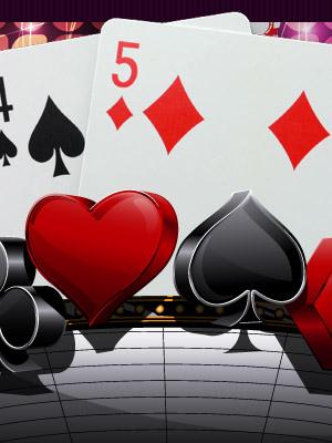 Lucky Nine Card Game